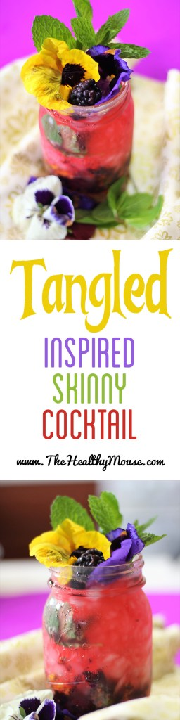 Tangled Inspired Cocktail - Disney Cocktail - Vodka cocktail - skinny vodka cocktail - skinny Disney cocktail - Rapunzel Cocktail - Tangled Cocktail - Skinny Disney Cocktail