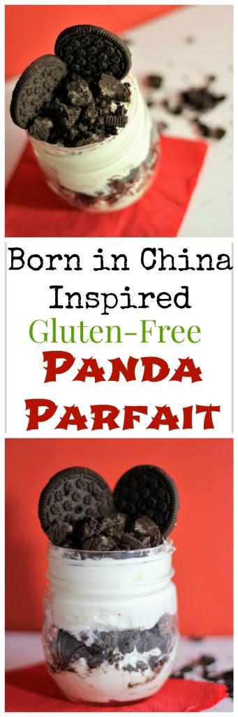 Disneynature Born in China Movie Review plus Born in China Recipe: Gluten-Free Panda Parfait - Panda Inspired Treats - Panda Dessert - Dessert Parfait