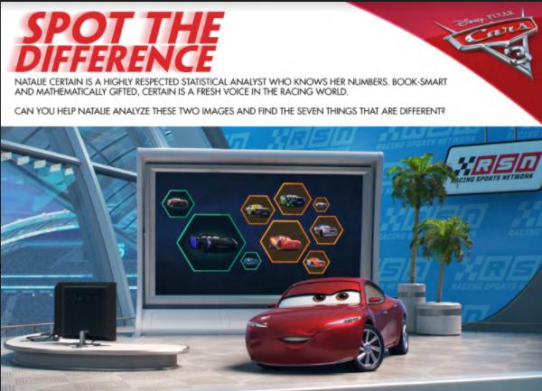 Disney & Pixar Cars 3 Free Printable Activity Sheets - Cars 3 Activities