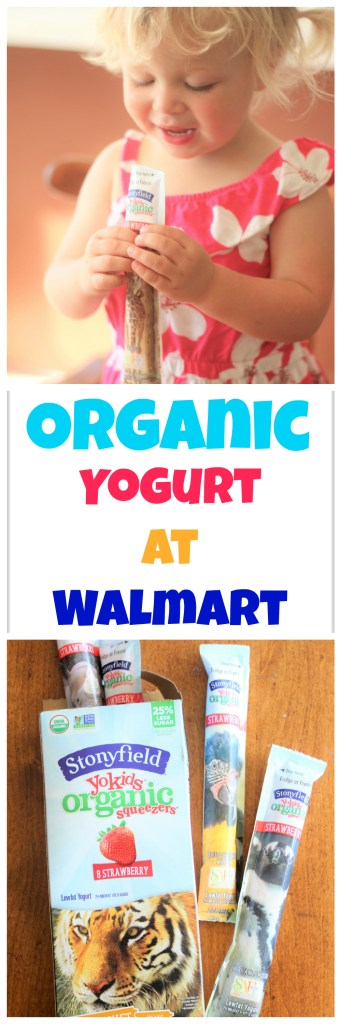 Organic Yogurt at Walmart - You can now conveniently buy organic groceries at Walmart!