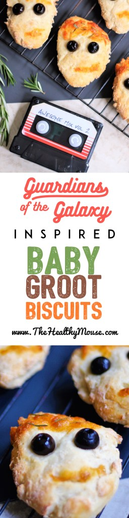 Guardians of the Galaxy Groot Biscuits - Inspired by the Groot Bread at Disney California Adventure's Summer of Heroes - Guardians of the Galaxy Recipe