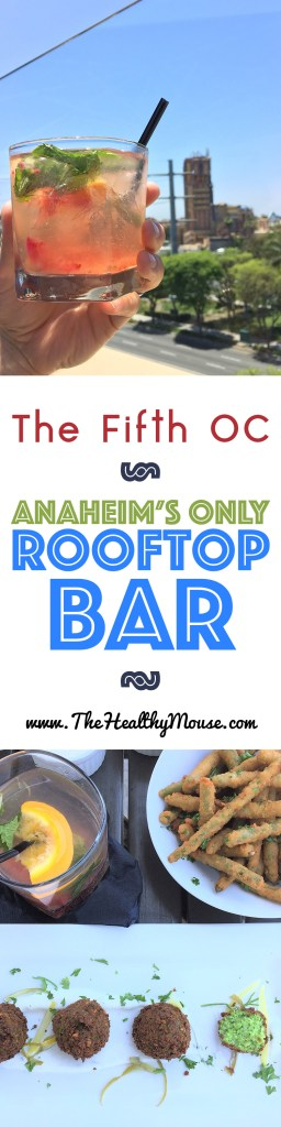 The Fifth OC - Anaheim's Only Rooftop Bar & Only Bar With a View of Disneyland! Things to do in Anaheim
