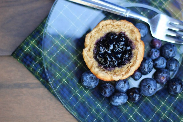 Pixar Brave inspired blueberry breakfast cake - Brave Witch's Cottage Cake