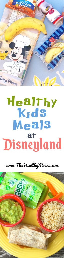 Healthy Kids Meals at Disneyland - Eating Healthy at Disneyland - Disneyland with Kids
