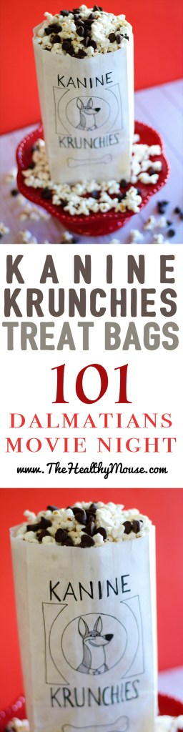 Have a 101 Dalmatians Disney movie night with Kanine Krunchies!