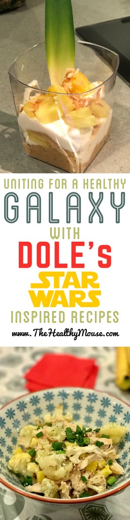 Dole has partnered with Star Wars to create some movie inspired healthy recipes with Dole Fresh Fruits and Vegetables! @dolepins #Dole, #UnitewithDole, #UniteforHealth #Ad