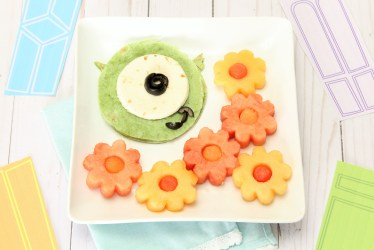 Healthy Lunch Food Art Inspired by Monsters Inc The Healthy Mouse