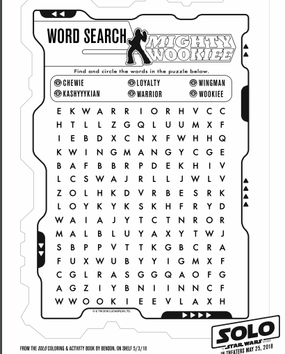 solo a star wars story star wars coloring pages 4 - The Healthy Mouse
