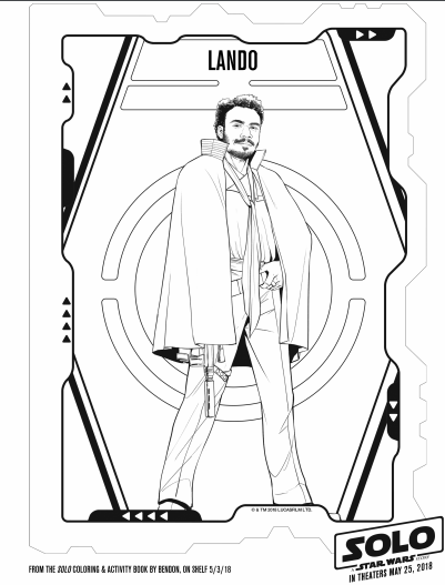 Solo A Star Wars Story Star Wars Coloring Pages 7 The Healthy Mouse
