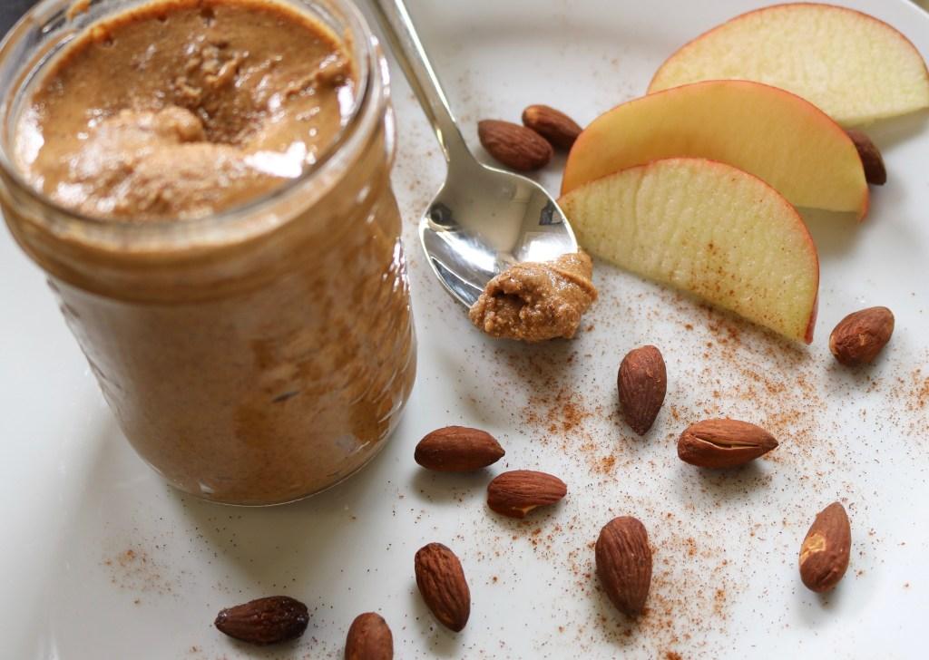 Vanilla Cinnamon Almond Butter - Vegan and Gluten Free