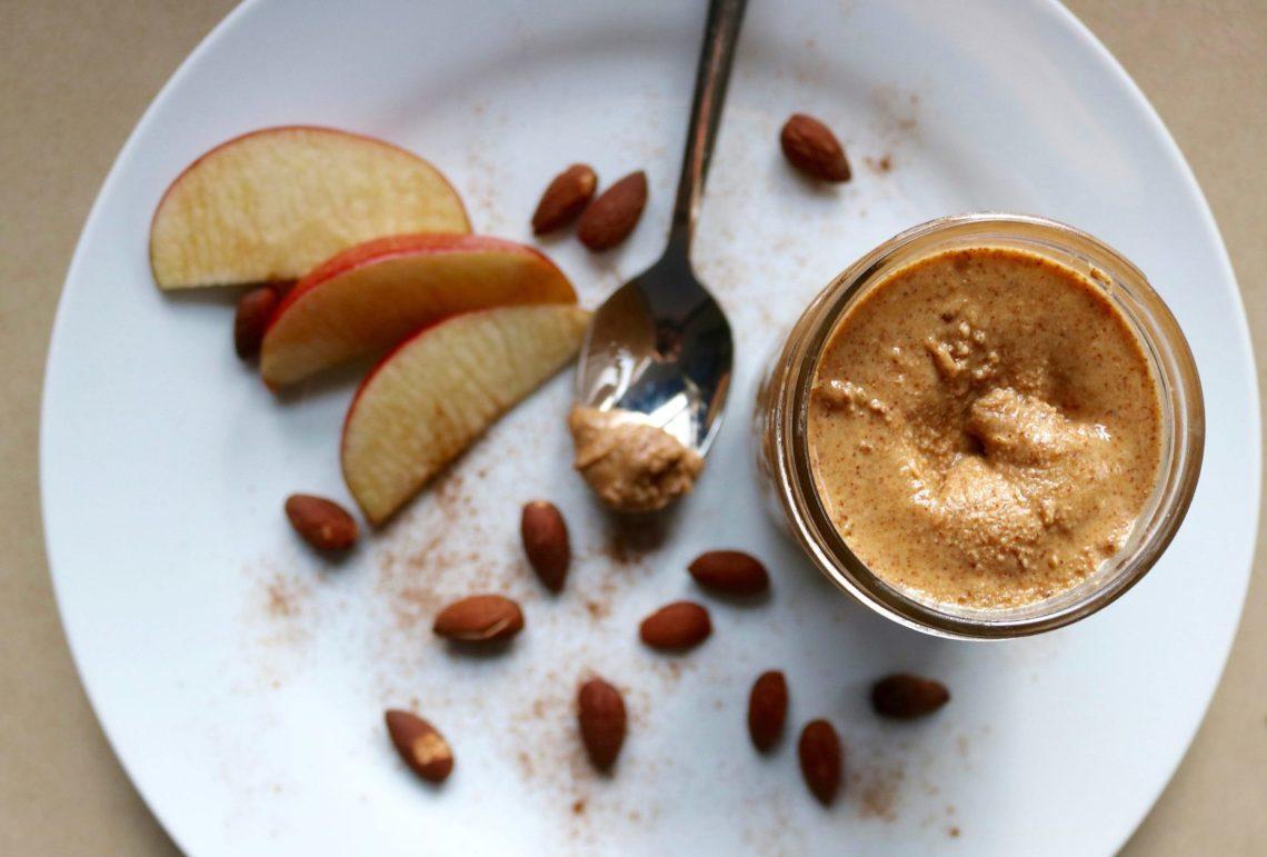 Vanilla Cinnamon Roasted Almond Butter - Vegan and Gluten Free