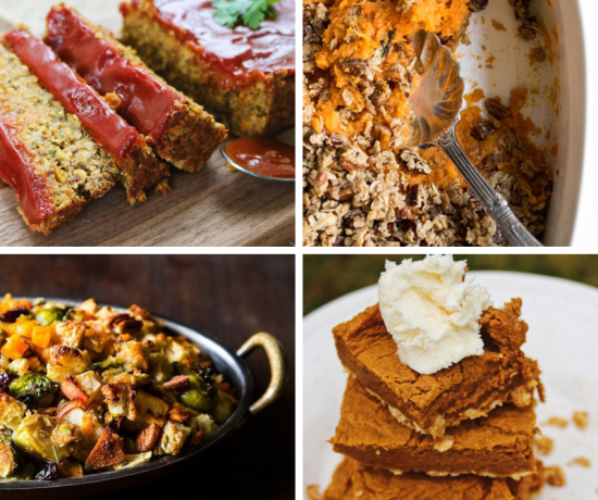 What to serve a vegan for Thanksgiving dinner. I'm sharing a few of my favourite vegan Thanksgiving recipes are easy to make are guaranteed crowd-pleasers!
