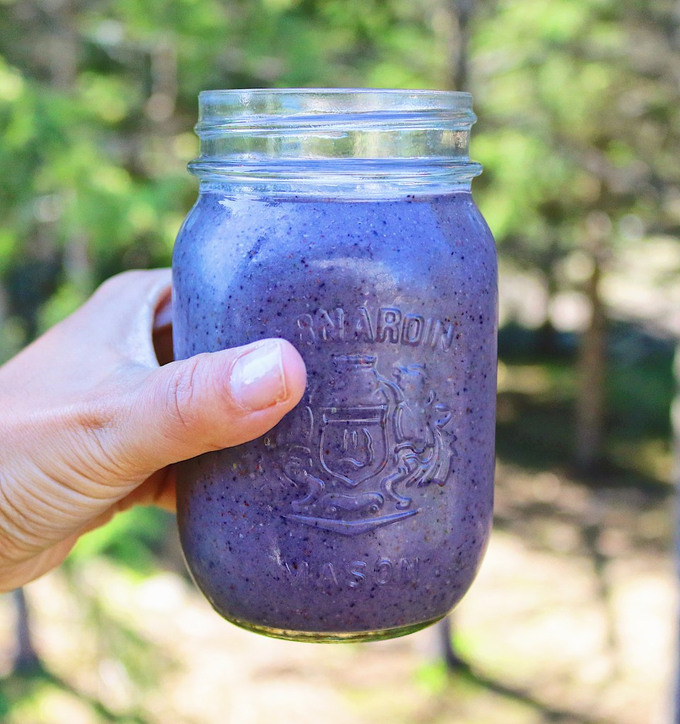 This simple fertility smoothie doesn't include any fancy ingredients but is based on what your body needs like healthy fats, and fruits and veggies.