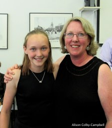 Two generations of Seaveys (mom, Melissa is part of the team at the Greater Haverhill Chamber of Commerce)