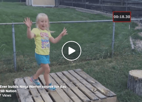 The Next American Ninja Warrior Is Only 5 Years Old