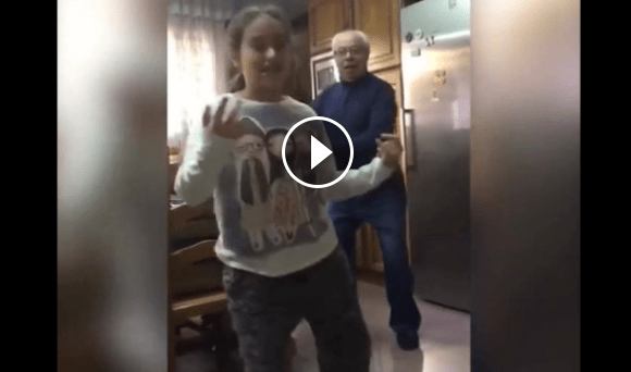 Grandfather Dances In Funny Video – This Made My Day