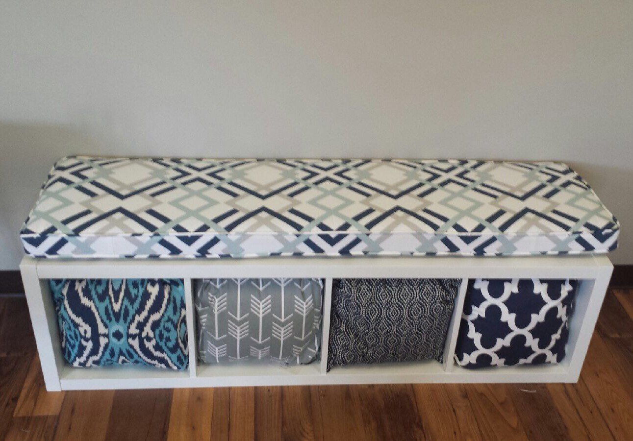 Kallax Cushions for Benches Window Seats  MoreHearth