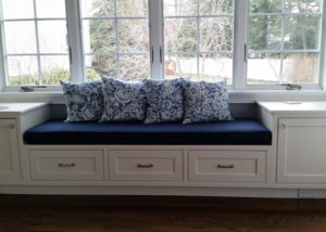 custom window seat cushions any size