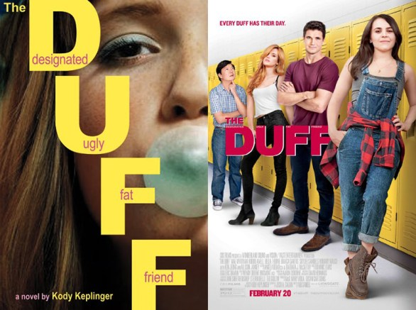 The Duff book movie differences
