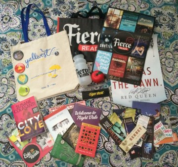 the heart of a book blogger first giveaway