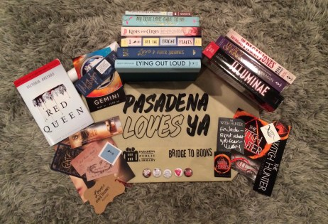 pasadena loves ya book haul - the heart of a book blogger