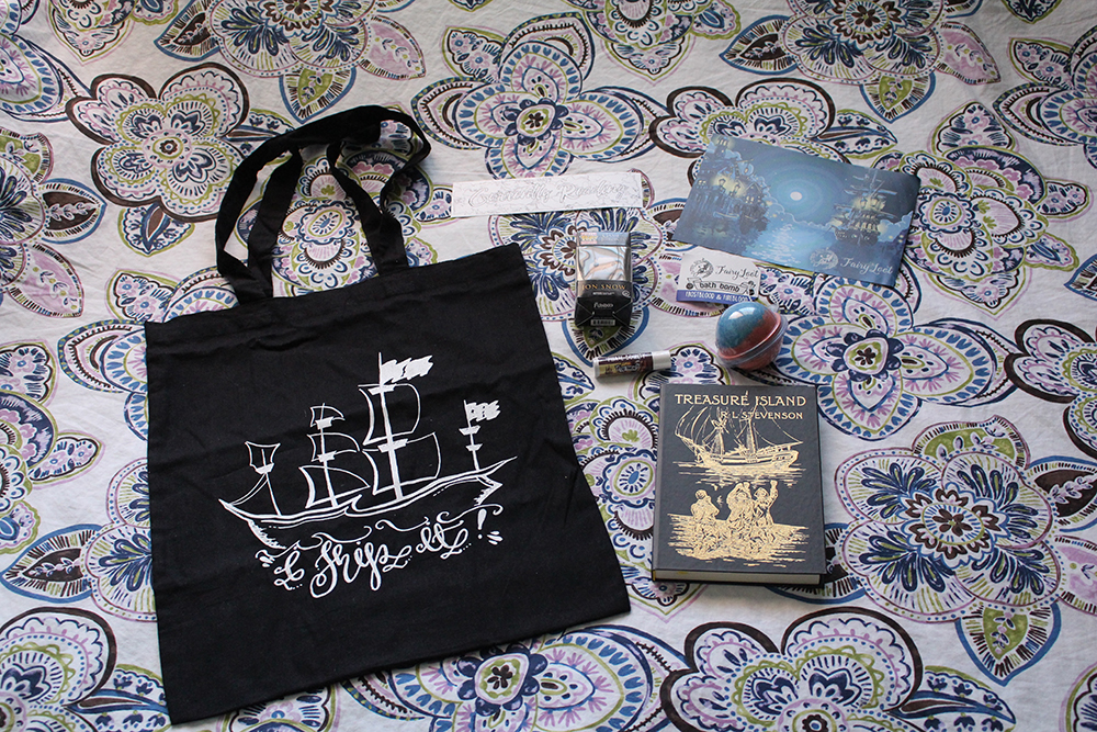 fairlyloot july loot - theheartofabookblogger