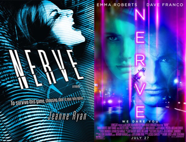 Nerve book movie differences