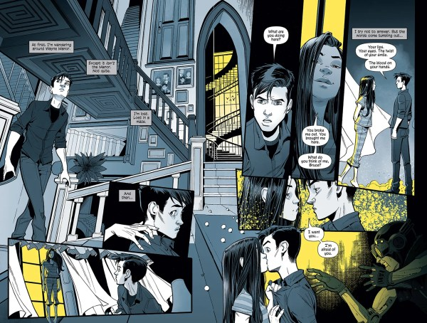 Art from Batman Nightwalker Graphic Novel