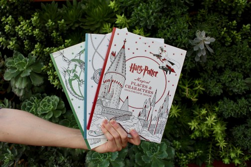 Harry Potter Coloring Books Giveaway