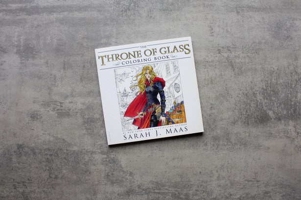 Throne of Glass Coloring Book Giveaway