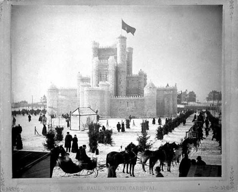 1886 Saint Paul Winter Carnival Ice Palace