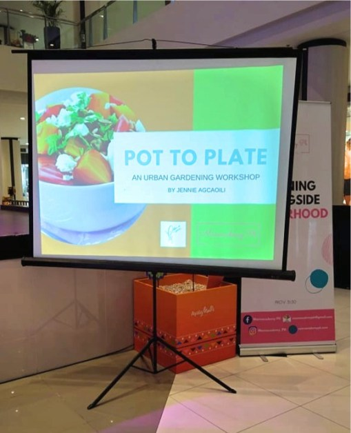Pot To Plate : Urban Gardening Workshop