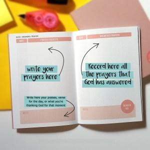 Heart Warmer PH Scripture Art - Prayer Journal