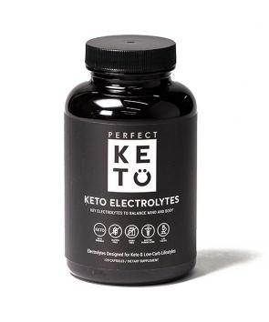 Keto Electrolytes, supplementation for electrolytes when you are on the keto diet.