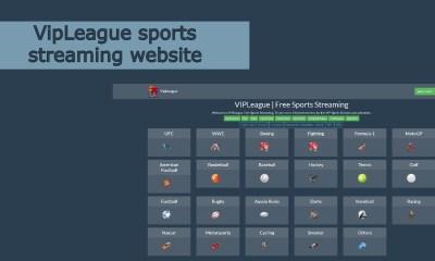 VipLeague sports streaming website