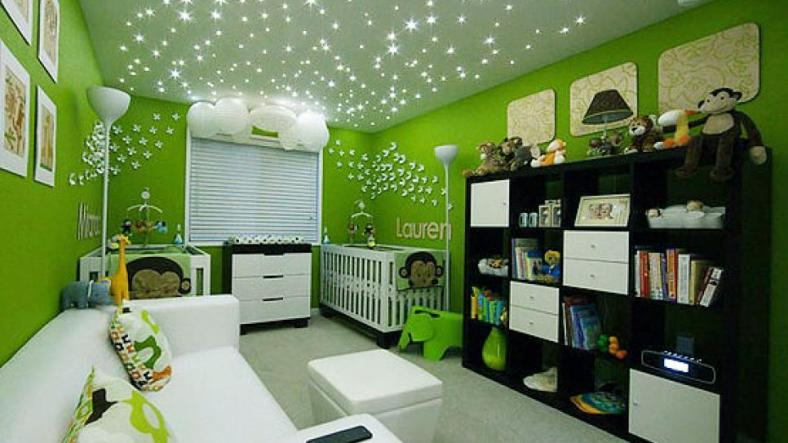 What kind of lighting can be used in the children's room