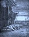 """Concubine Reaches Home"" by Gustave Dore Wikipedia Public Domain"
