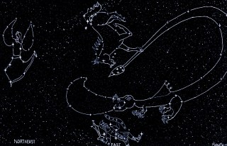 Early Winter Bible Constellations- darker
