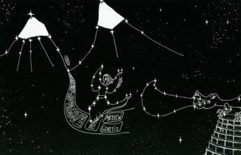 Constellation- Woman of Revelation 12 flees to the mountains Mark 13:14