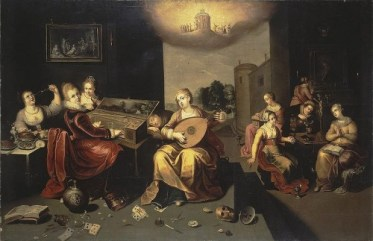 800px-Francken,_Hieronymus_the_Younger_-_Parable_of_the_Wise_and_Foolish_Virgins_-_c__1616 wikipedia pub. dom.
