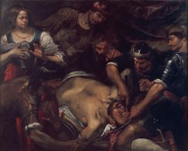 https://commons.wikimedia.org/wiki/File:Gioacchino_Assereto_-_The_Philistines_Gouging_out_Samson's_Eyes_-_Google_Art_Project.jpg