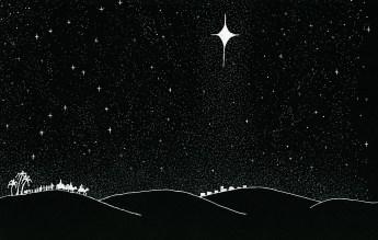 Wise Men (Magi) From East Follow Star To Bethlehem-www.signsofheaven.org-public domain release