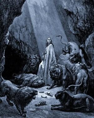 Daniel - Dore - Daniel In The Den Of Lions - www.creationism.org - Public - Domain
