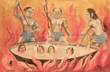 Buddhist Hell - Wikipedia - Public Domain