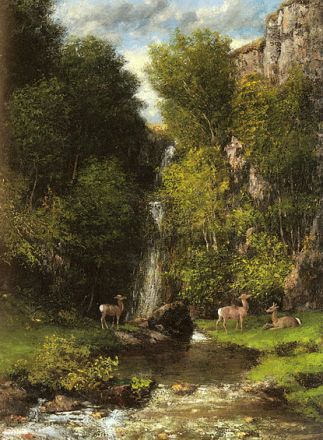 http://commons.wikimedia.org/wiki/File:A_Family_of_Deer_in_a_Landscape_with_a_Waterfall.jpg