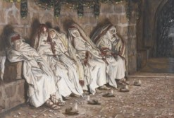 http://commons.wikimedia.org/wiki/File:Brooklyn_Museum_-_The_Wise_Virgins_(Les_vierges_sages)_-_James_Tissot.jpg