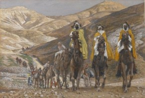 Brooklyn Museum - The Magi Journeying James Tissot - US public domain