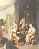 Parable of the Wise and Foolish Virgins - c 1616 - wikipedia - public domain