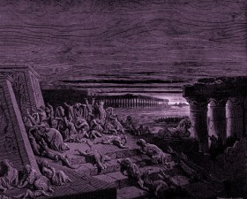 Dore The Plague Of Darkness- www.creationism.org -Public-Domain
