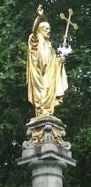 http://en.wikipedia.org/wiki/File:Statue_of_Saint_Paul_-_London_-_20090804.jpg